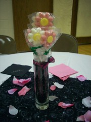 Decorating The Night Before - Centerpieces
