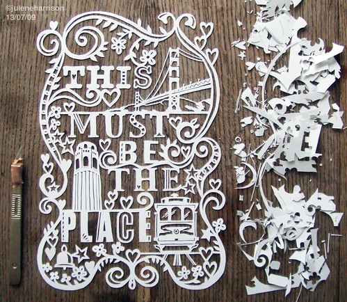 The Wife of an Artist: Stuff I Want to Learn (Part 1): Paper Cutting.