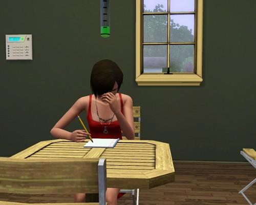 Jenny au travail