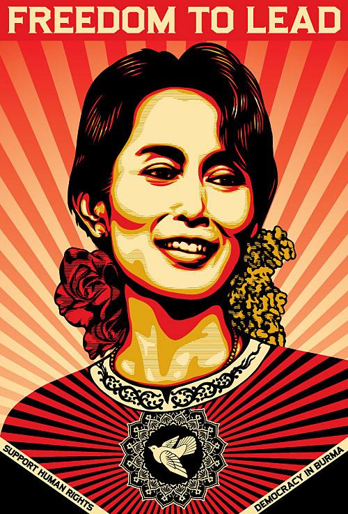 Shepard Fairet - Auny San Suu Kyi