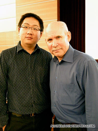Steve McCurry and me