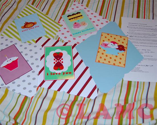 wip greetings cards