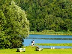 coppie #2 (Marsala Florio) Tags: blue friends italy lake verde green azul lago italia blu brianza lombardia otw inspiredbylove the4elements alserio lagodialserio clickcamera