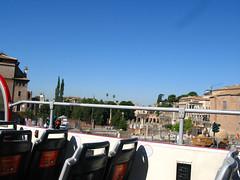 観光バスからの眺め