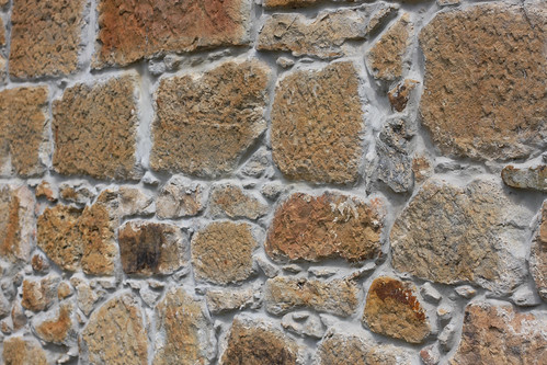 Church Stone Wall
