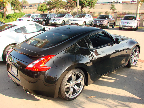 nissan 370z black. 2009 Nissan 370Z