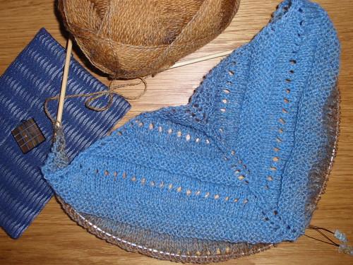 Blue shawl 2
