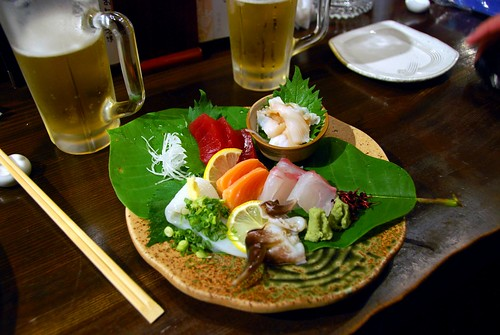 sashimi yum, takayama