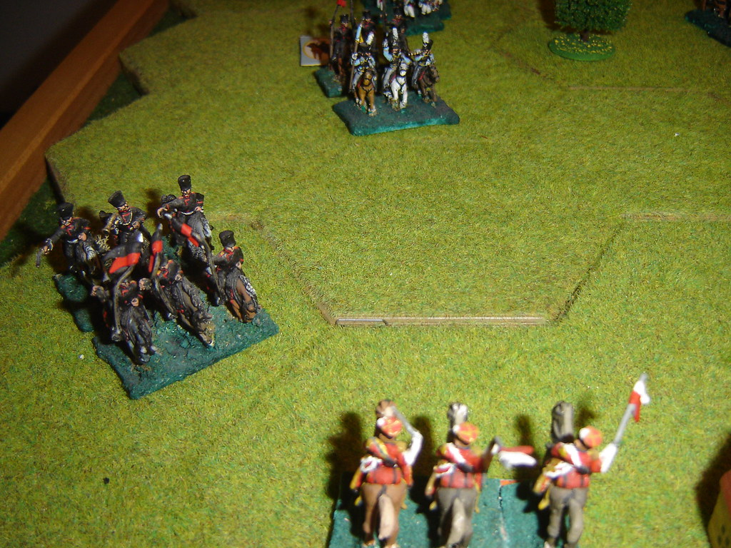 Fierce cavalry battle outside Limelette