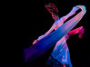 In the Flow (Derekwin) Tags: china blue flow dance nikon chinese xian tang colorphotoaward d700 nikond700