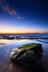Blue Start (Tim Donnelly (TimboDon)) Tags: ocean seascape sunrise australia nsw cokin bungan