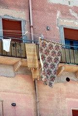 Washing from the window (Verity Borthwick) Tags: windows italy window europe sicily washing trapani washingline
