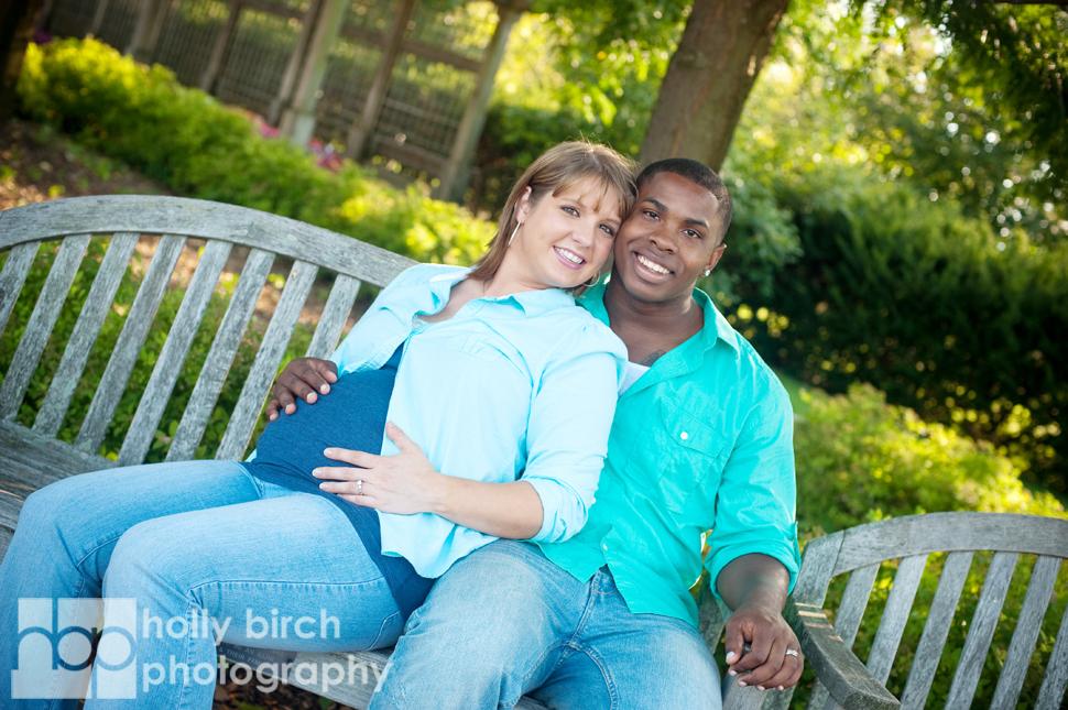 Jeanne + Taz maternity session | Champaign IL Arboretum
