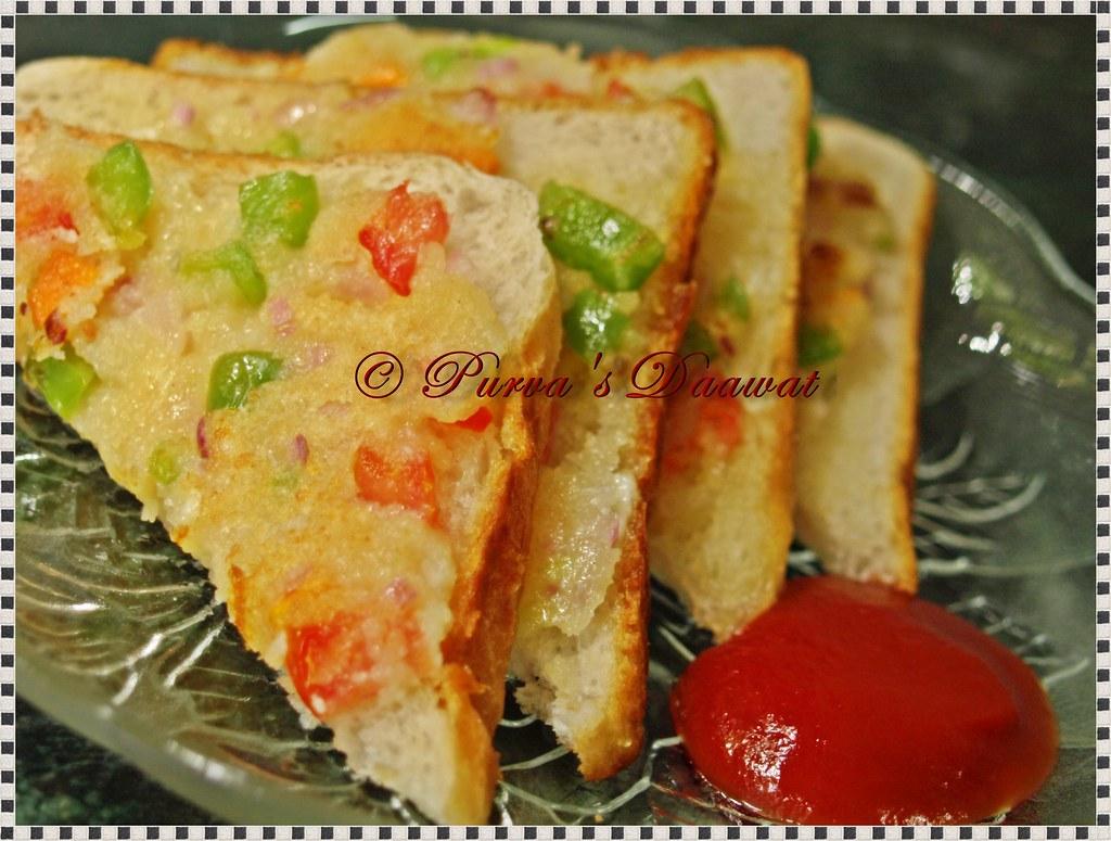 Rava Open Sandwich