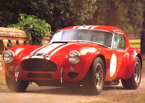 フリー画像| 自動車| スポーツカー| レーシングカー| フォード/Ford| シェルビー コブラ| シェルビー ACコブラ| 1964 AC Cobra LeMans 289| アメ車|   フリー素材|