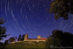Neipperg Castle (hgviola ) Tags: castle night germany stars deutschland lowlight romance castelo romantic schloss nuit allemagne notte castillo malam burg bintang startrails etoiles sterne heilbronn romantik jerman badenwrttemberg d80 neipperg sternspuren hgviola