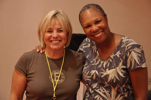 Terri Pontremoli and Rhonda Hamilton