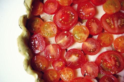 tomato mozzarella tart 2