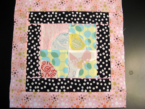 Block 1 for September Bee Modern