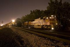 Circus Nights (Trainboy03) Tags: santa rock island illinois iowa il interstate fe 700 bnsf iais 8242