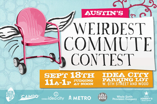 Austin Weirdest Commute Contest Art