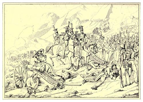 005-Combate de Somosierra 29 de Noviembre de 1808-The Napoleon gallery 1846