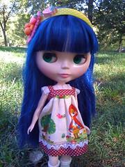 Zoey at the park-nice headband!