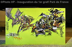 Inauguration du 1er graff Park de France - By Enrag & Dark Elixir. (Photograff92) Tags: park france flickr getty graff et gettyimages manteslajolie darkelixir photograff92 lenrag
