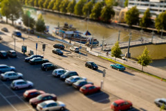 46 - Mini-World (Petri Karvinen) Tags: city miniature turku 365 tiltshift