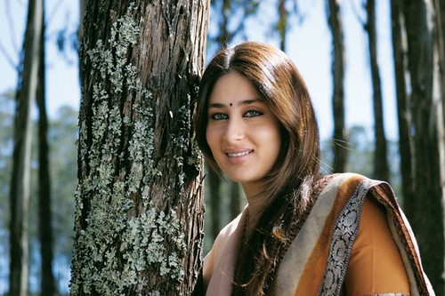 Kareena Kapoor by a tree