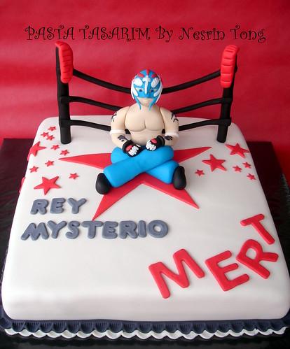 RAY MYSTERIO CAKE
