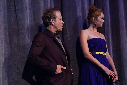 Tom Waits and Lily Cole // The Imaginarium of Doctor Parnassus // TIFF09