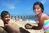 bye bye beach (explored) (Ghadeer Q) Tags: ocean california blue sea summer sky usa sun beach smile kids canon fun happy sand waves play flash daughter tan son mai pacificocean balboa omar balboaisland balboapier explored summer2009 ghadeerq