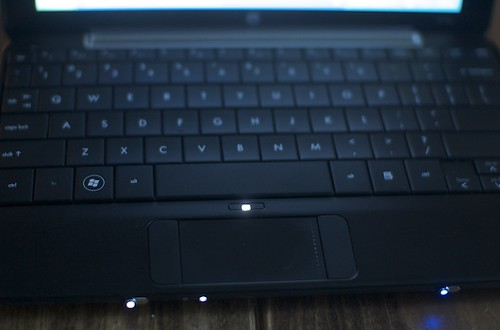 Netbook trackpad
