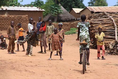 Village, eastern Mali.