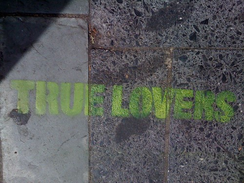 true lovers stencil