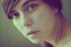 Out of focus (laororo) Tags: portrait woman selfportrait me vintage filtering sandragonzalez laororo