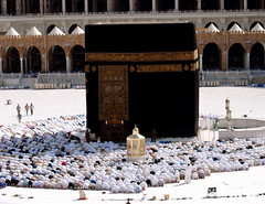 the most beautiful sight on earth (saimah.iman) Tags: one worship god islam prayer praying saudi arabia muslims umrah salah makkah hajj kaba sajda kaaba prostration