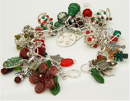 Artisan Holiday Charm Bracelet