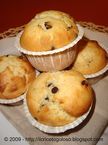 Chocolate chips muffins 2