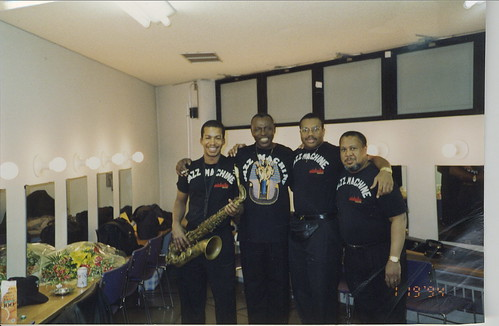 Greg Tardy, Elvin Jones, John Brown and Willie Pickens