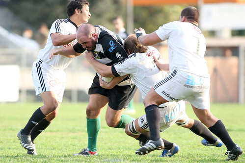 Paoletti, pilone della Rugby Roma