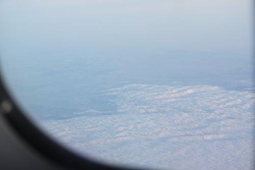 華航商務艙。台北-曼谷-阿姆斯特丹-091031