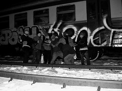 http://shootyourstyle.blogspot.com/ (shootyourstyles) Tags: train graffiti vandalism honet 158 kgm poch omut