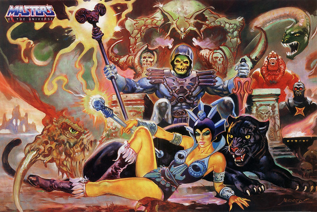 Masters Of The Universe - 21 (painting by Esteban Maroto)
