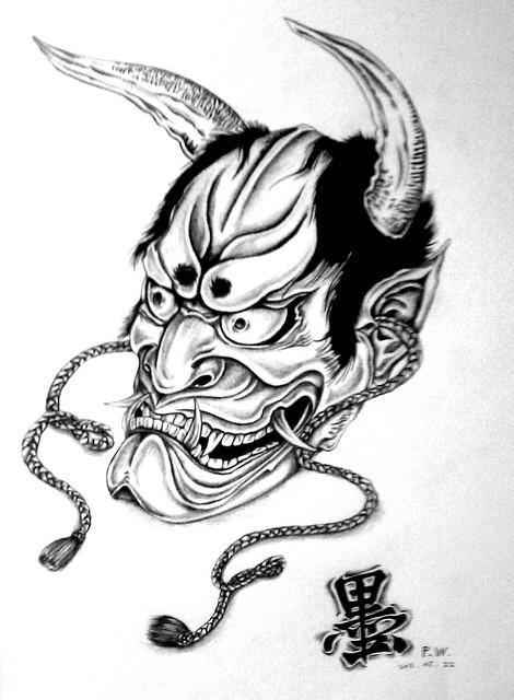 <紋身圖騰>鬼頭2011.05.23