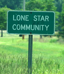 Lone Star Sign