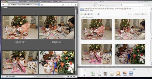 Color rendition: Adobe Bridge CS3 vs Picasa