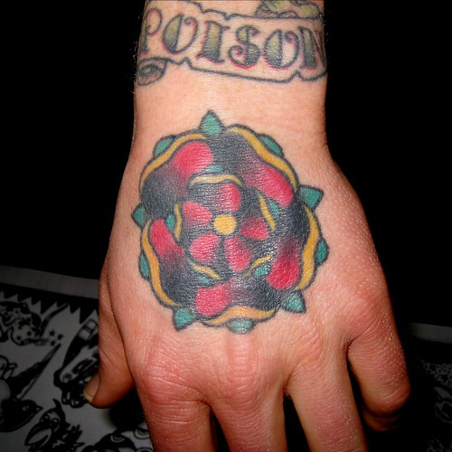 Hand Tattoo by Tilt @ Star of Texas Tattoo Art Revival 2009