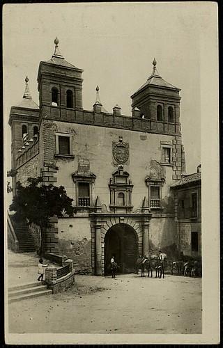 Puerta del Cambrón. Foto H.A.E. años 30